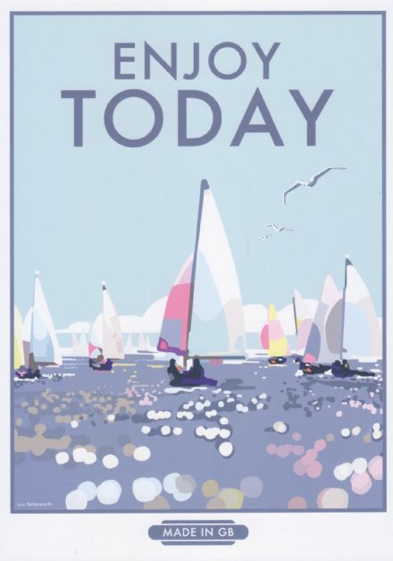 'Enjoy Today'  Available in A4/A2 Size Print from...